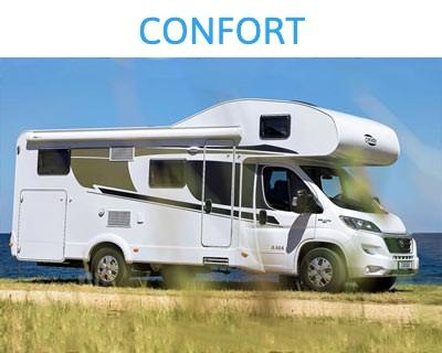 Renta de Campers: Modelo Comfort